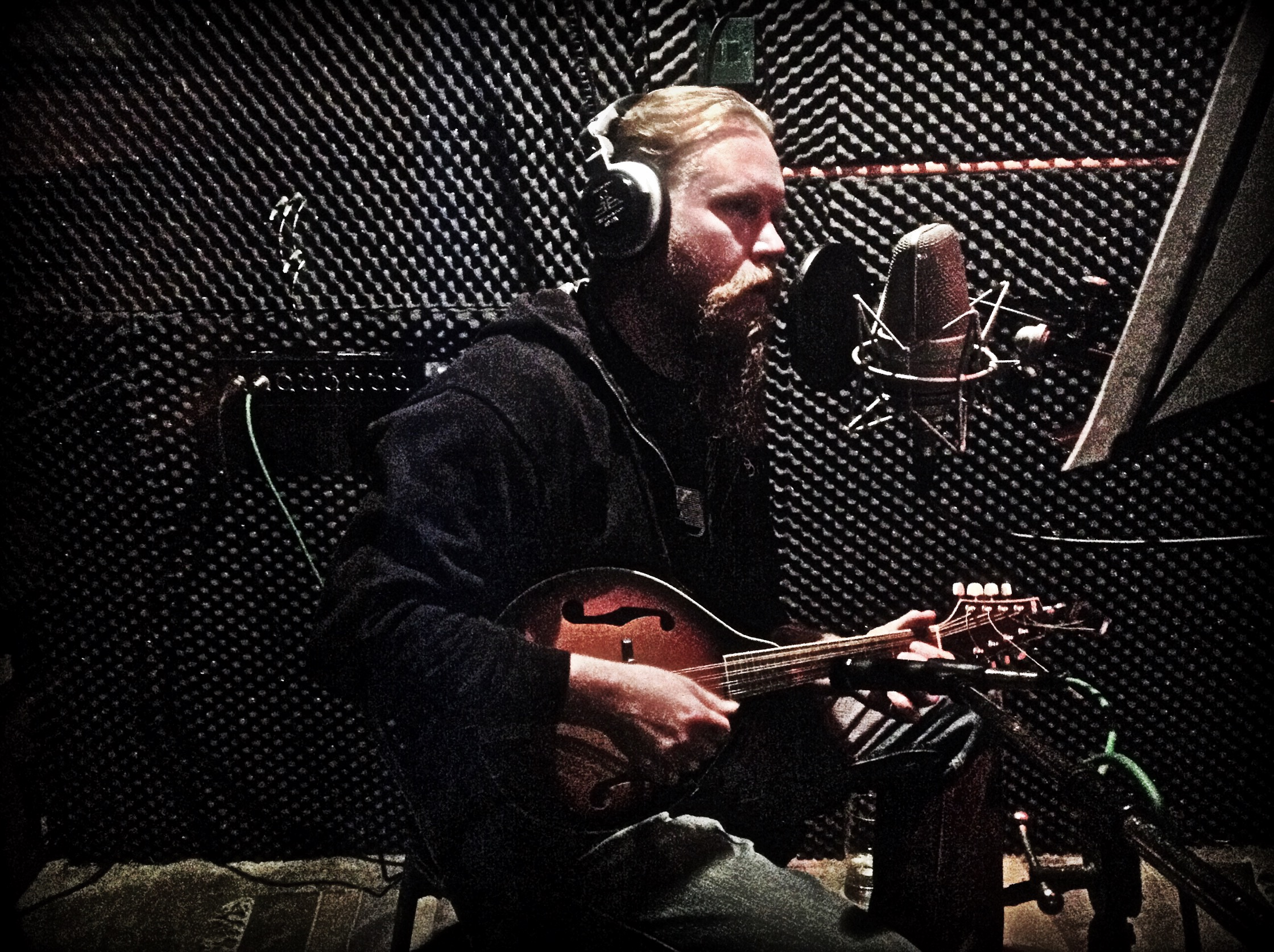 Mandolin in the studio